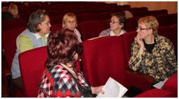 Участники тренинга 21.11.12. Групповое обсуждение «Барьеры для прекращения курения».